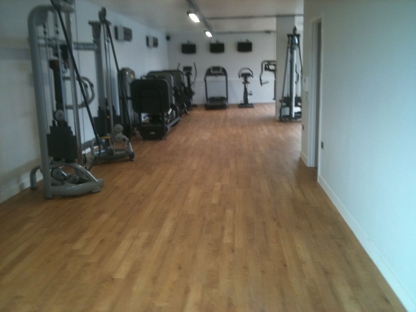 Floor Installation Services Commercial Flooring Gym
